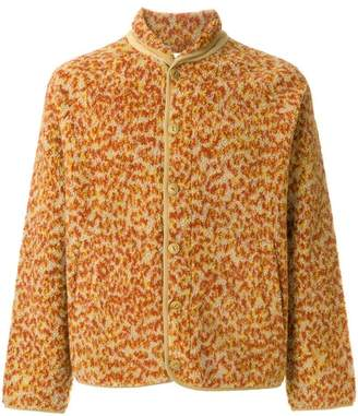 YMC leopard fleece jacket