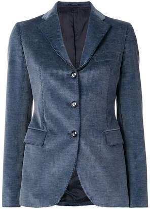 Tagliatore single-breasted corduroy blazer