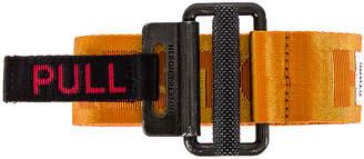 Heron Preston KK Tape Belt in Orange   FWRD