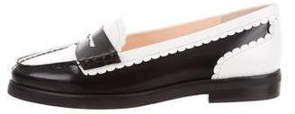 Isa Tapia Bicolor Leather Loafers w/ Tags