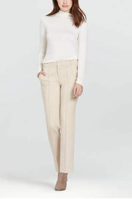 Ecru Sutton Straight Trouser