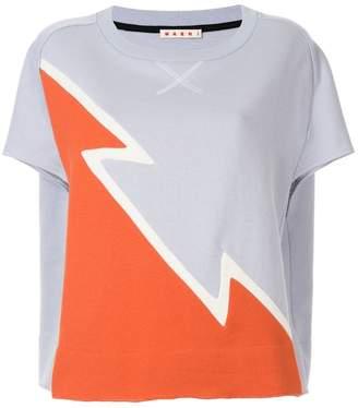 Marni dovetail print sweatshirt