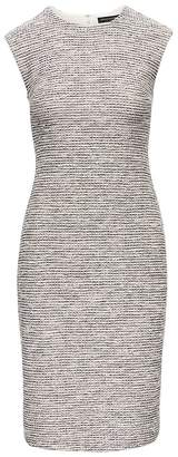 Banana Republic Bouclé Sheath Dress