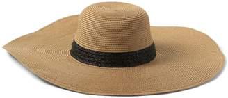 Banana Republic Packable Raffia Floppy Sun Hat