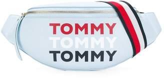 Tommy Hilfiger logo print bum bag