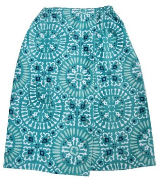Threshold Medallion Bath Wrap Turquoise $12.99 thestylecure.com