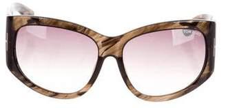 Tom Ford Felicity Oversize Sunglasses