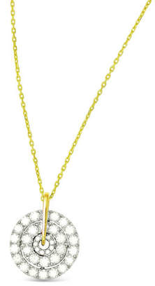 Frederic Sage 18k Firenze II Spinning Diamond Pendant Necklace