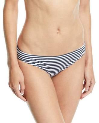 Tory Burch Classic Striped Hipster Bikini Swim Bottoms
