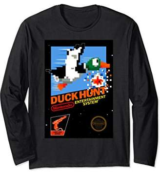 Nintendo NES Duck Hunt Retro Vintage Cover Long Sleeve Tee