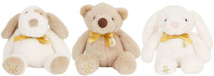Harrods My First Bears (Set Of 3), White