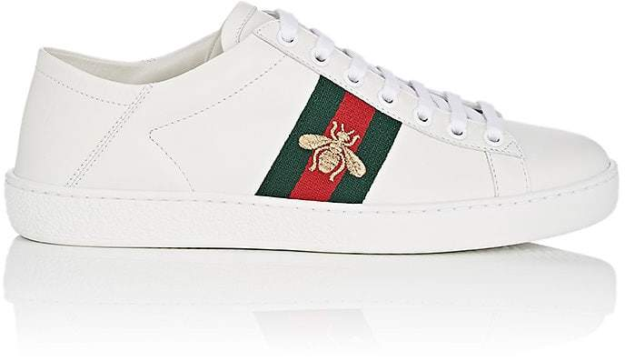 Gucci Women's New Ace Leather Sneakers