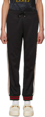 Gucci Black Logo Lounge Pants