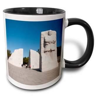 Lee 3dRose Martin Luther King Jr Memorial, Washington DC, USA - US09 LFO0143 Foster - Two Tone Black Mug, 11-ounce
