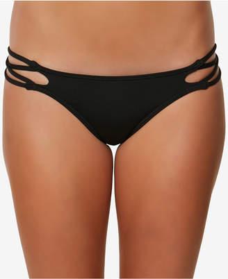 O'Neill Juniors' Salt Water Solids Strappy Cheeky Swim Bottoms Women's Swimsuit