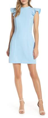 Adelyn Rae Mylie Ruffle Sleeve Dress