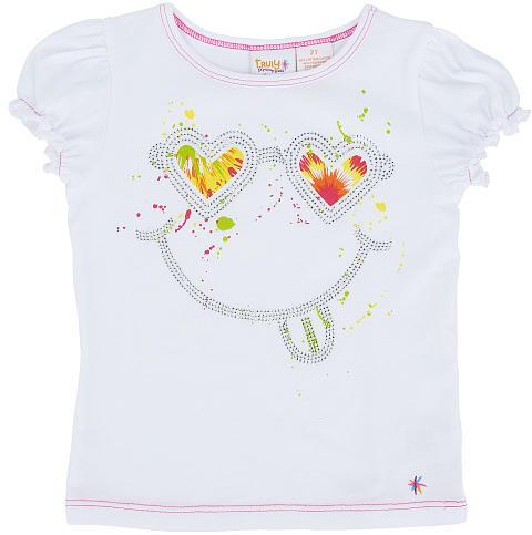 Babies 'R' Us Heidi Klum Truly Scrumptious Girls' Short Sleeve 'Smile' Tee - Toddler