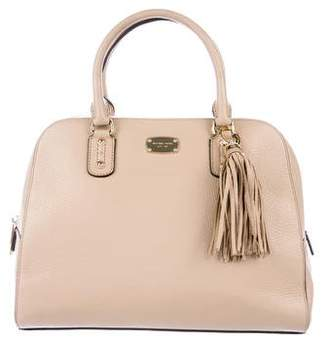 MICHAEL Michael Kors Leather Tassel Satchel