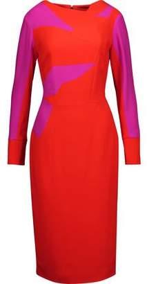 Antonio Berardi Color-Block Crepe Dress