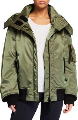 Reebok x Victoria Beckham Double-Layer Hooded Jacket