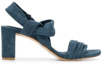 60586511a Blue Strappy Sandals For Women - ShopStyle Australia