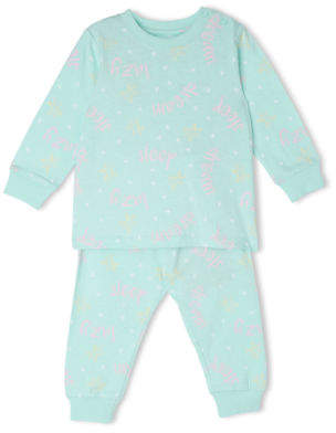 Sprout NEW Girls Pajama Set Mint