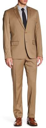 John W. Nordstrom Classic Fit Solid Wool Suit