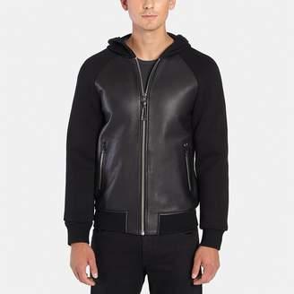 Mackage Gibb Leather Bomber Jacket