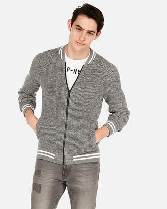 Express Baseball Full-Zip Cardigan