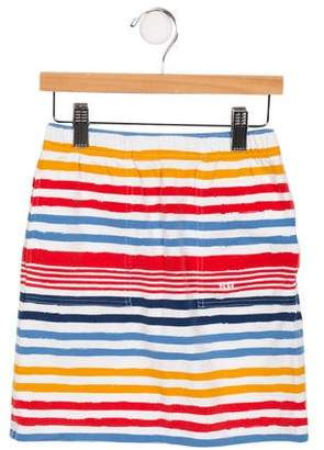Sonia Rykiel Girls' Striped Knit Skirt