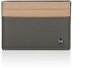 Valentino Men's Rockstud Leather Card Case