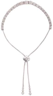 Sara Weinstock 18kt white gold Isadora Floret Bolo diamond bracelet