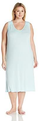 Arabella Women's Plus Size Racerback Nightgown