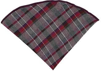 Alexander Olch Men's Plaid Wool Pocket Round