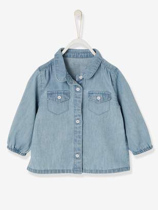 Vertbaudet Baby Girls' Denim Shirt