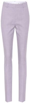 Victoria Beckham Cotton-blend slim-fit trousers