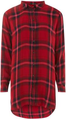 Dorothy Perkins Womens **Only Red Checked Shirt