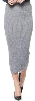 Dex Long Pencil Sweater Skirt
