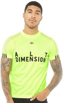 adidas x Alexander Wang Mens Soccer Jersey Solar Yellow/Black