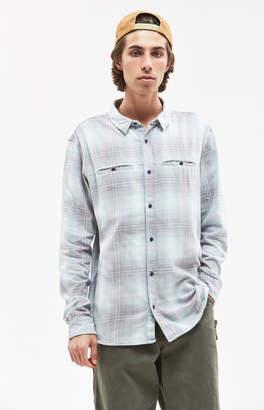 Quiksilver Konga Pass Plaid Flannel Shirt