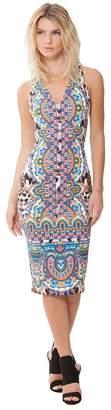 Hale Bob Marissa Crepe Dress