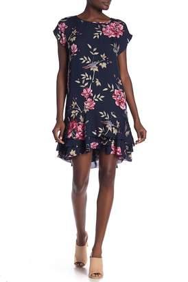 Joie Coreen Floral Print Silk Dress