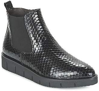 Perlato OUTIBE women's Mid Boots in Black