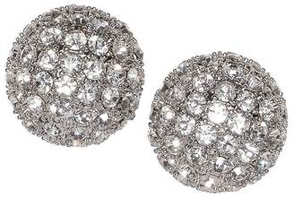 Kenneth Jay Lane Disco Ball Clip Earrings