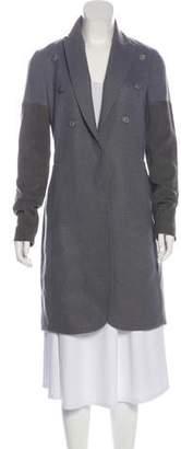 Brunello Cucinelli Wool & Suede Coat