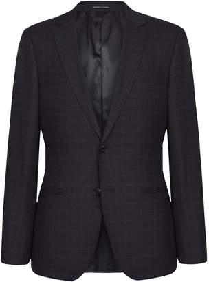 Reiss Gritton - Wool Blend Slim Fit Blazer in Navy