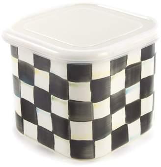 Mackenzie Childs Mackenzie-childs Courtly Check Medium Square Container