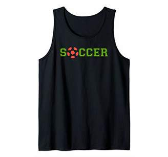 Soccer Striker Ball Sports Gear Tank Top