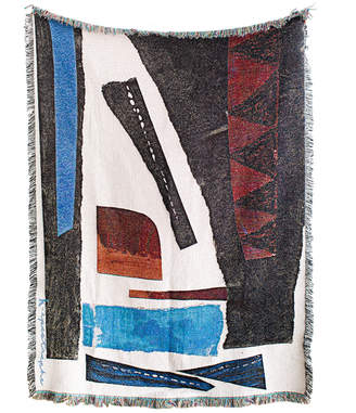 K Apostrophe Esther Woven Throw Blanket