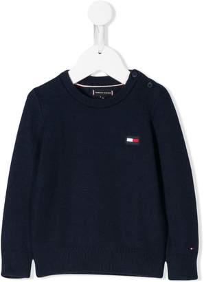 Tommy Hilfiger Junior classic logo knit sweatercrew